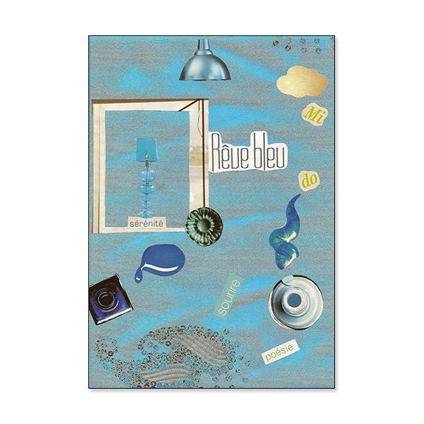 Saluer l'horizon - Carte double avec poème de Norlane Deliz