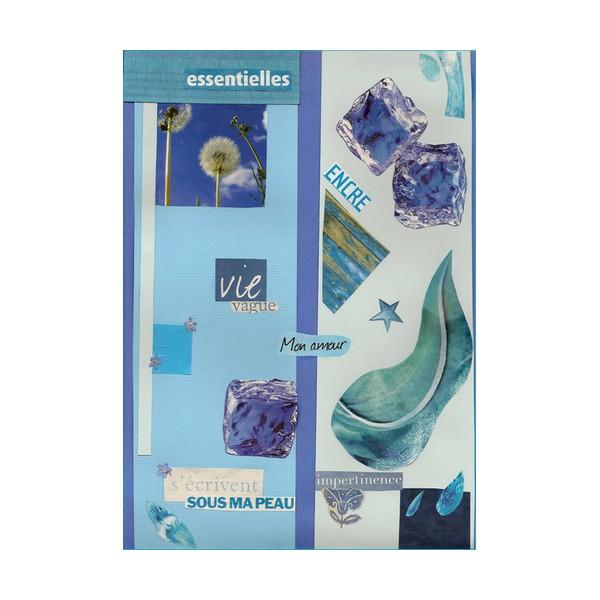 D 003 bleu poète